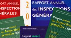 Rapports de l'inspection générale